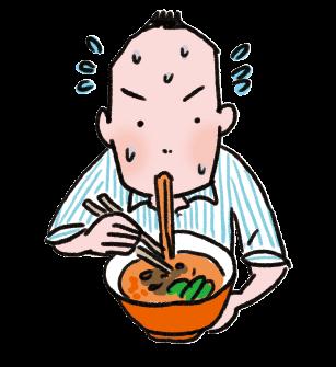食生活の乱れによる多汗症