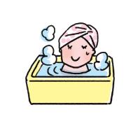 お風呂は最低でも5分間浸かる